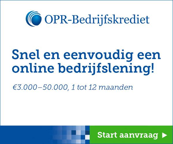 OPR bedrijfskrediet