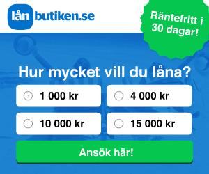Låna pengar snabbt hos Lånbutiken.se