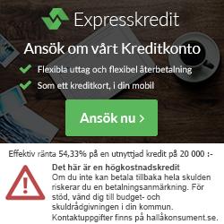 Mikrolån upp till 30 000 kronor hos Expresskredit